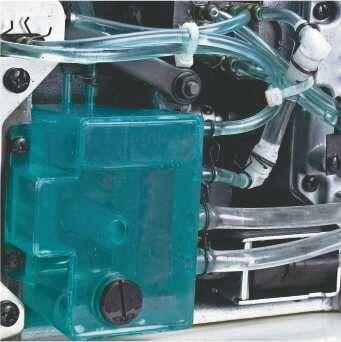 Система смазки швейной машины зигзаг строчки MAQI LS-T2290SR-D3
